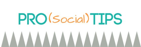 Pro (Social) Tips (1)