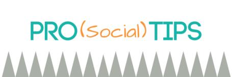 Pro (Social) Tips