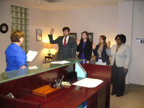 Swearing in ceremony2